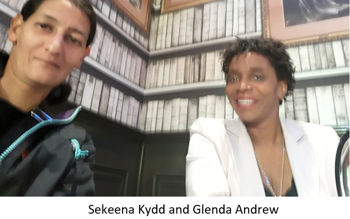 Sekeena and Glenda
